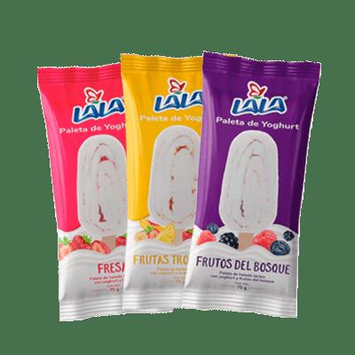 Paletas Yoghurt Lala